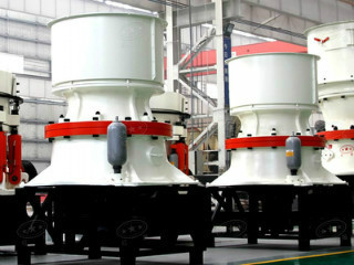 2013 New Type Cone Crusher Circular Cement Aggregates