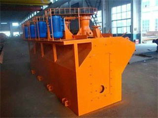 High Capacity Flotation Cell Machines Plant Exodus Mining