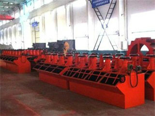 Flotation Cells Plant 300 Tpd Solution For Ore Mining