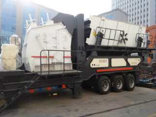 Warri Nigeria Africa Lime Aggregate Mobile Jaw Crusher