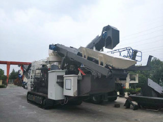 Large Coal Aggregate Mobile Jaw Crusher In Kano Nigeria Africa