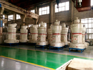 Calcite Powder Grinding 4 Rollers Raymond Mill For Sale