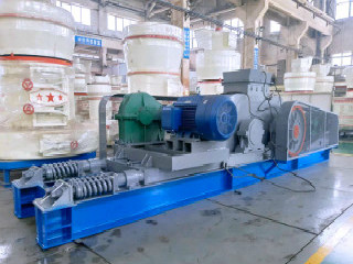 2016 Iso Ce Bgs Approved Roller Grinding Mill For Quartz
