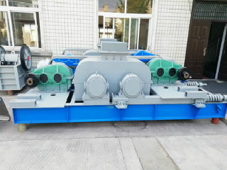2020 Hot Sale Low Cost Single Roller Crusher With Iso Ce