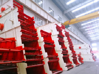 Crusher Plant Vibrating Screen